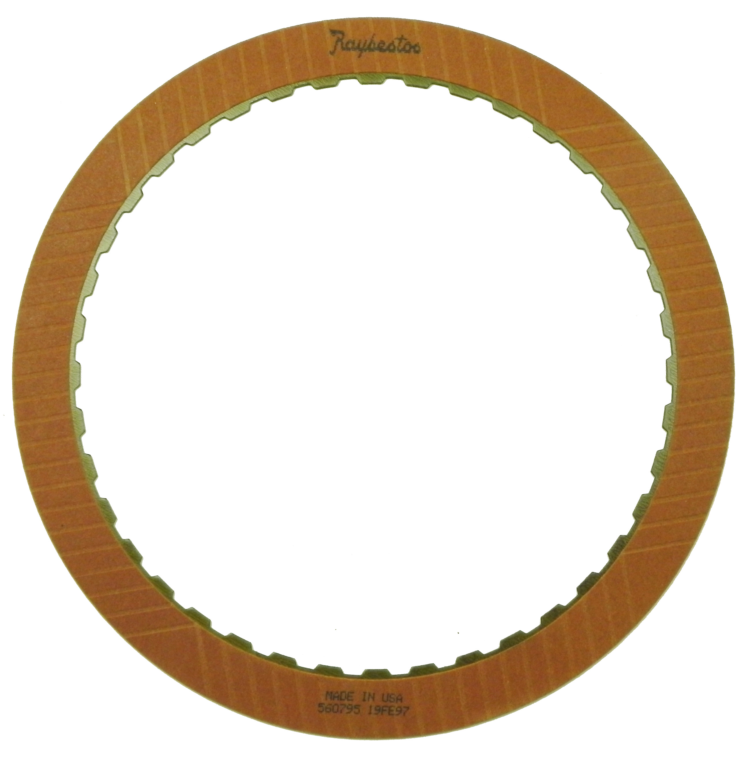 R560795 | 1992-1994 Friction Clutch Plate OE Replacement Intermediate, Reverse (2nd Design)