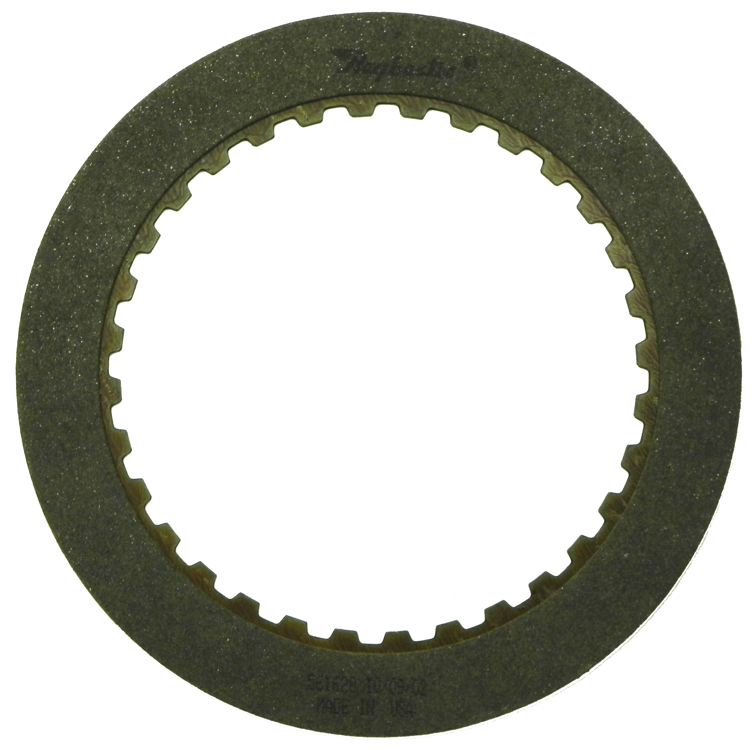 R561628 | 1983-ON Friction Clutch Plate High Energy 3rd (4T60) Olive, Single Sided, ID Spline High Energy