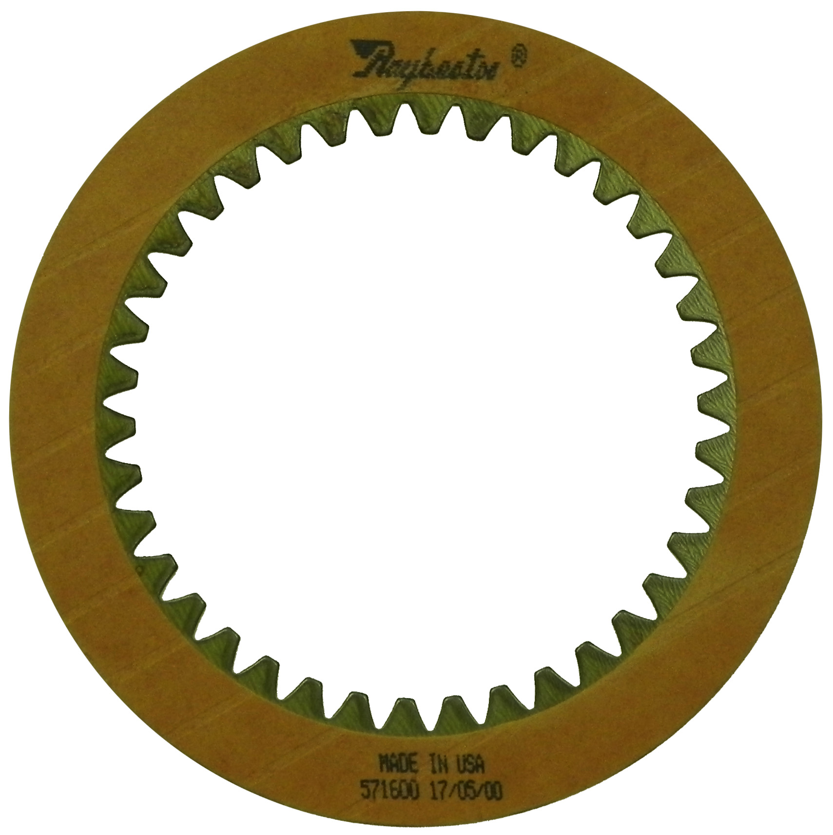 R571600 | 1980-1987 Friction Clutch Plate OE Replacement 1st, 2nd, 3rd