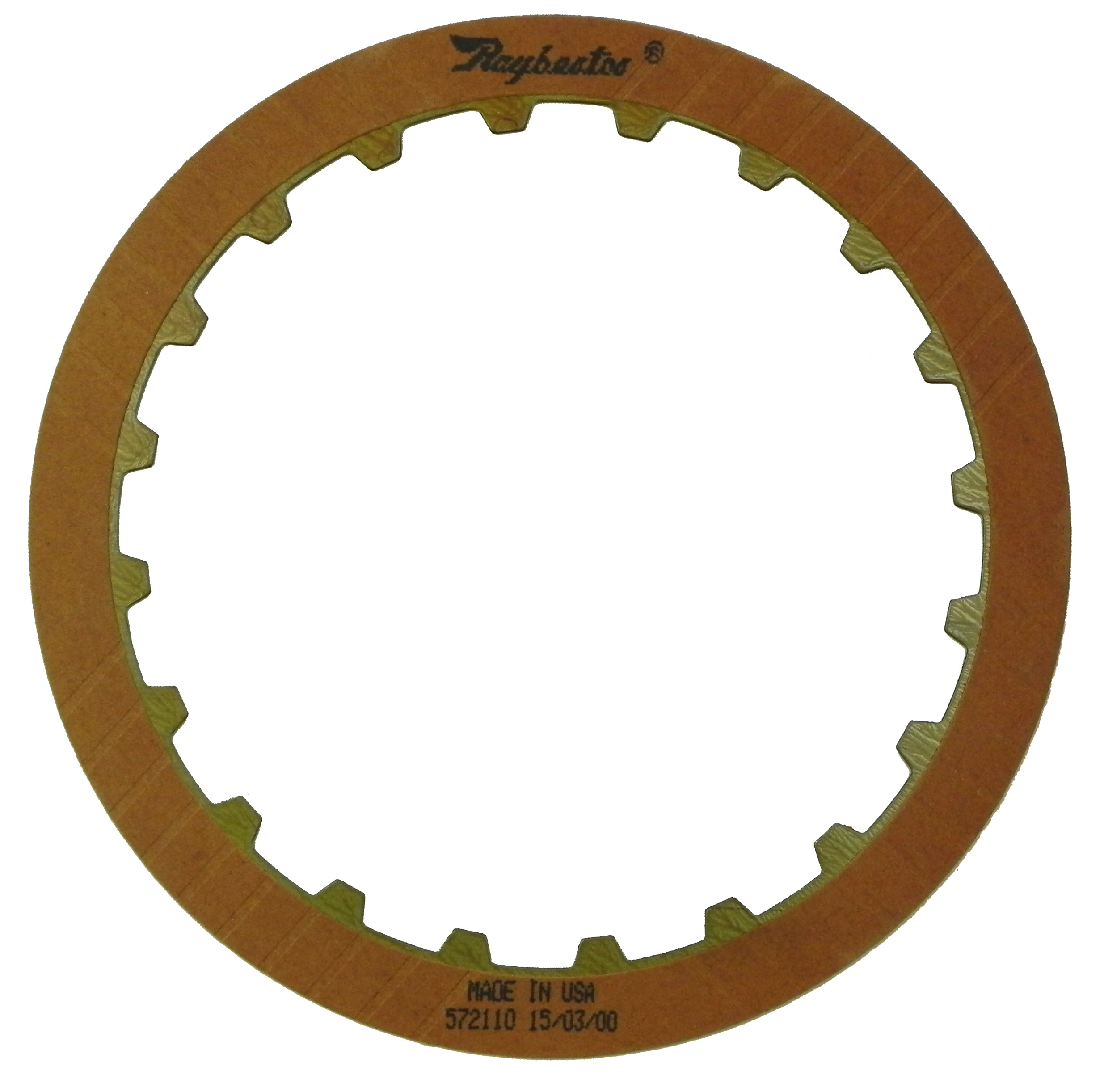 R572110 | 1990-ON Friction Clutch Plate OE Replacement High GM JF403E
