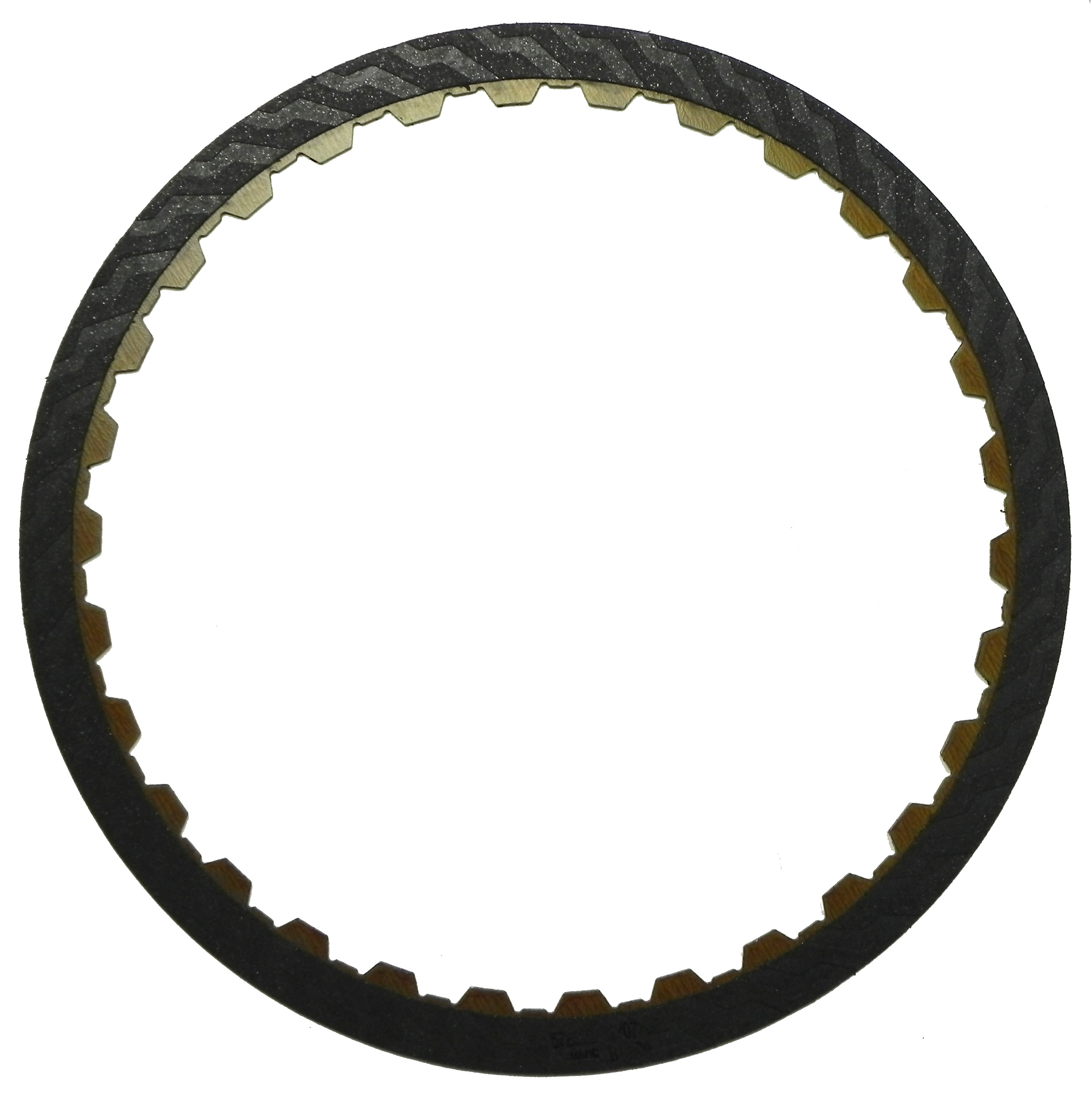R572640 | 2002-2006 Friction Clutch Plate High Energy B1, K1 Single Sided, ID Spline High Energy