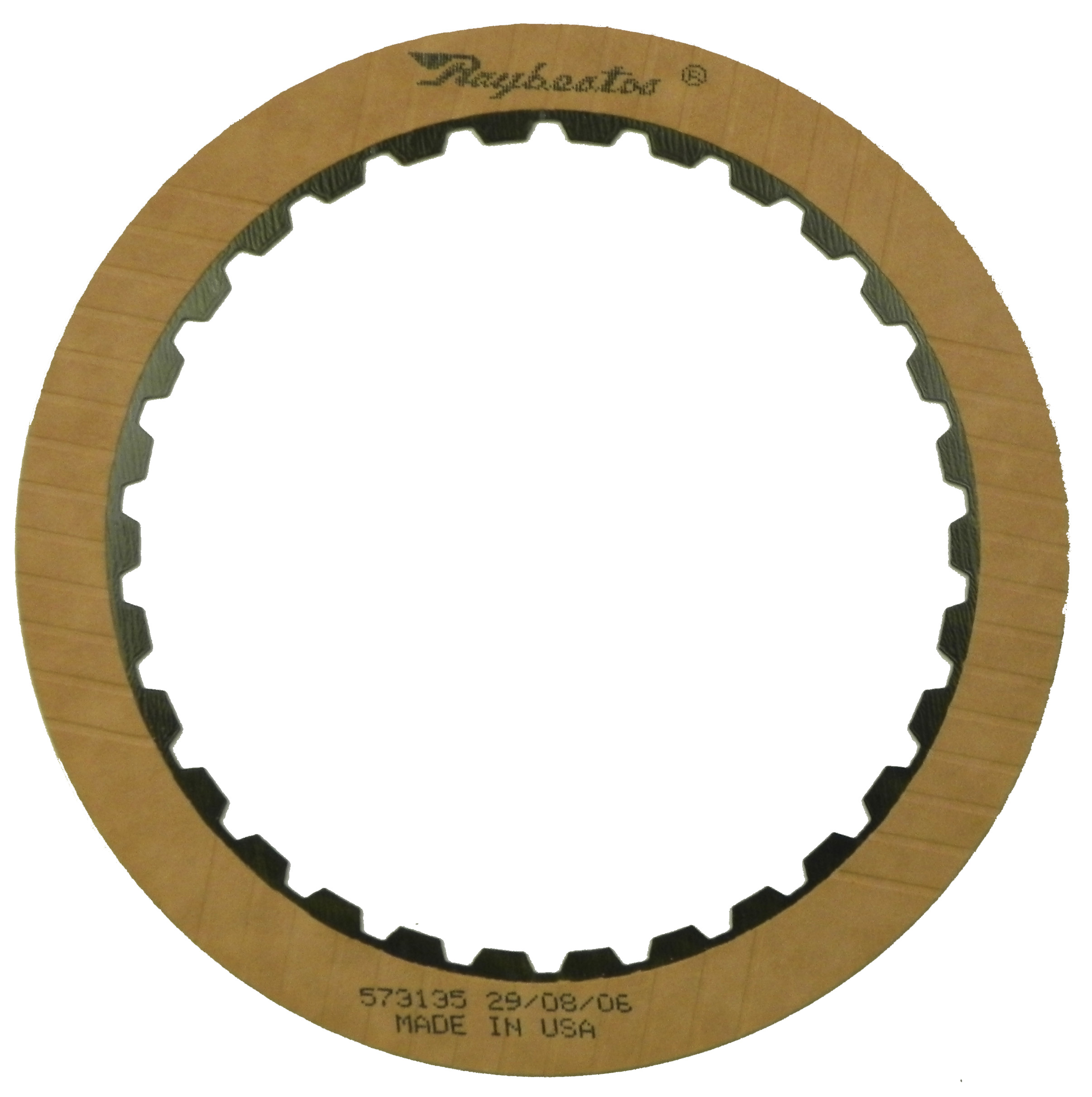 R573135 | 2005-ON Friction Clutch Plate OE Replacement Front, Low