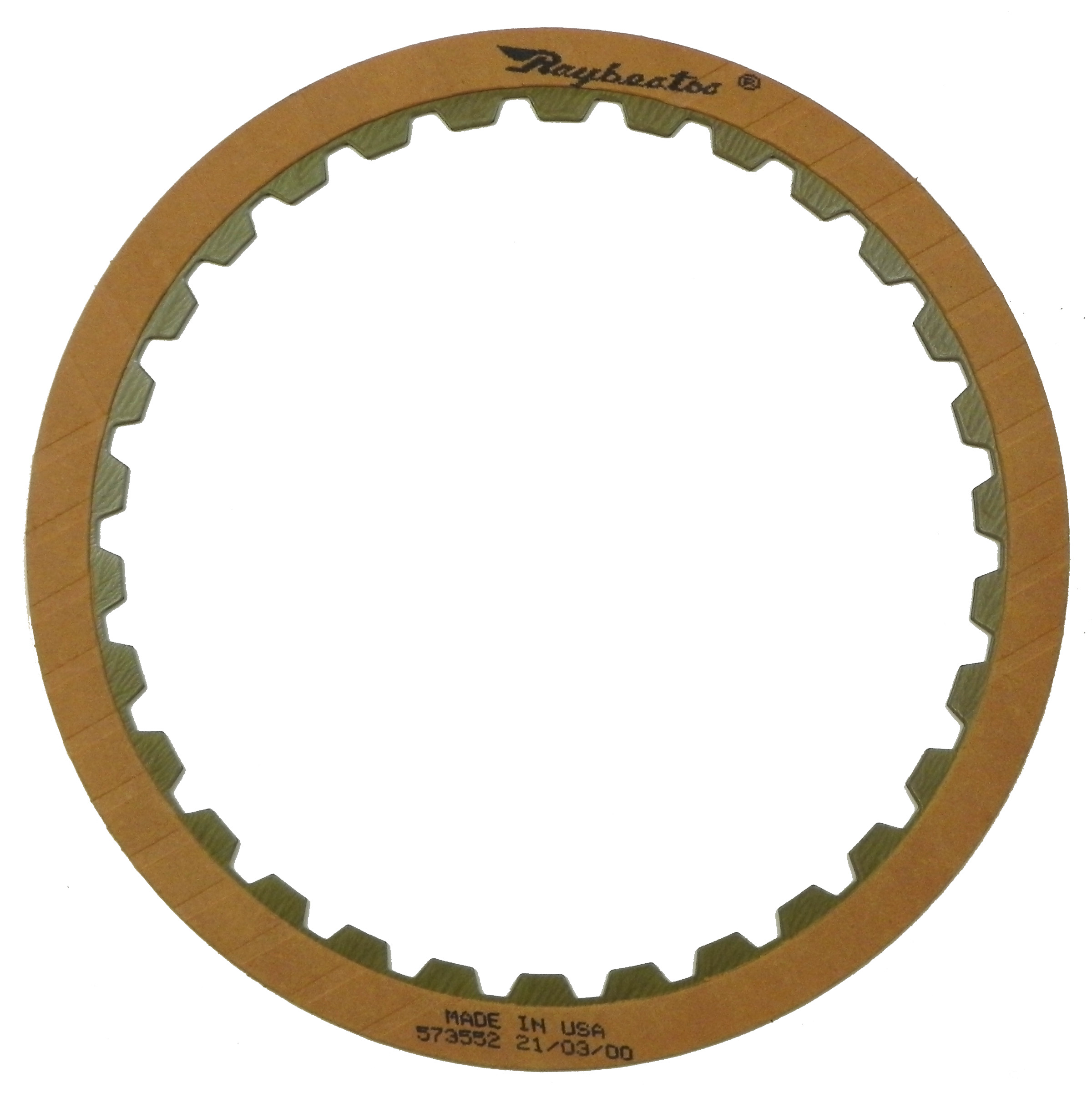 R573552 | 1986-1988 Friction Clutch Plate OE Replacement High