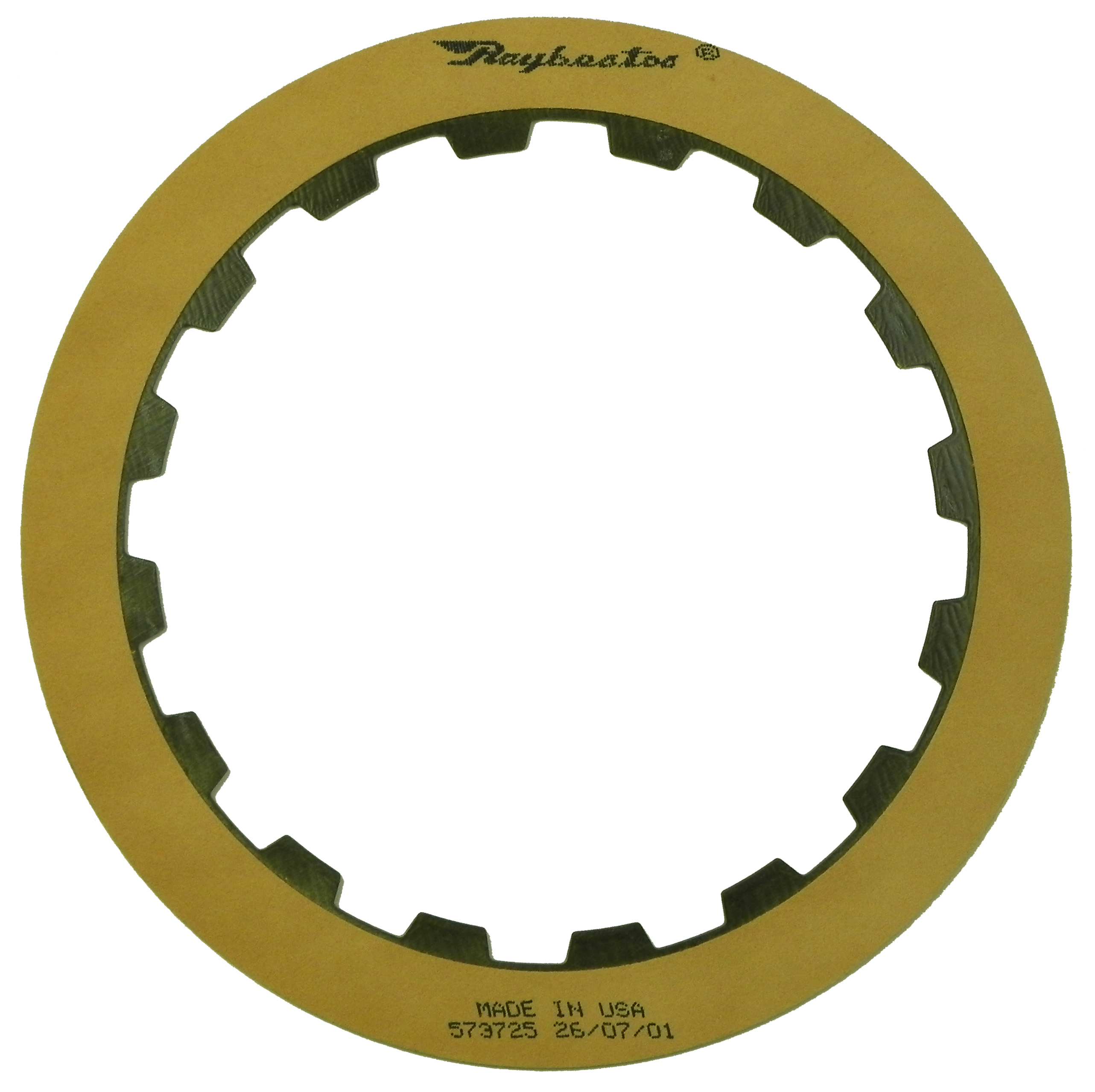 R573725 | 1973-1987 Friction Clutch Plate OE Replacement Low, Reverse