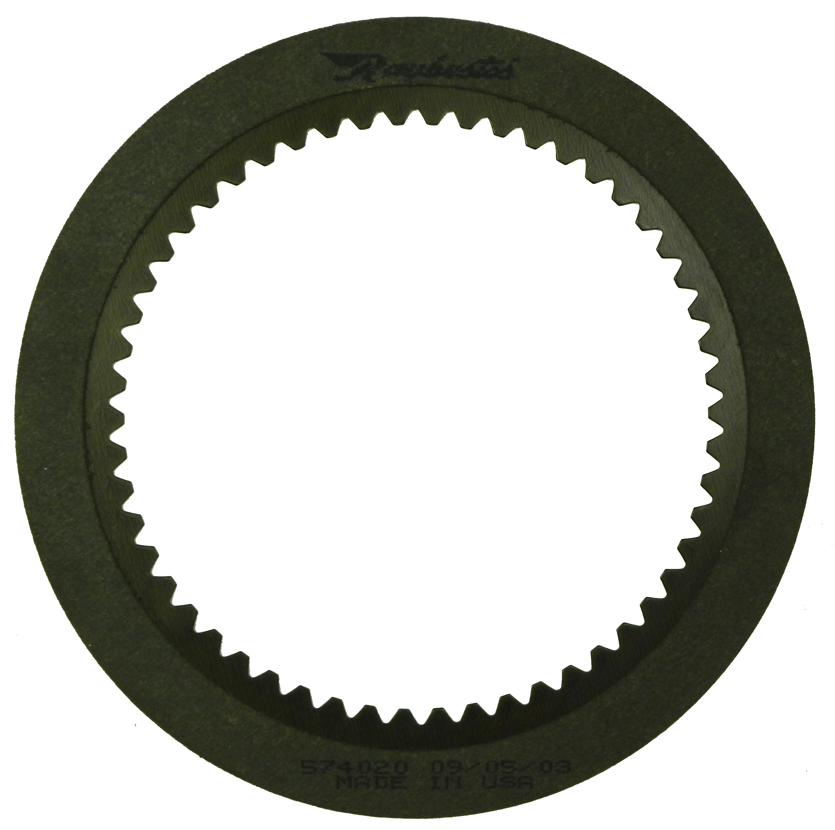 R574020 | 1990-E07 Friction Clutch Plate High Energy Overdrive Brake (Waved) High Energy