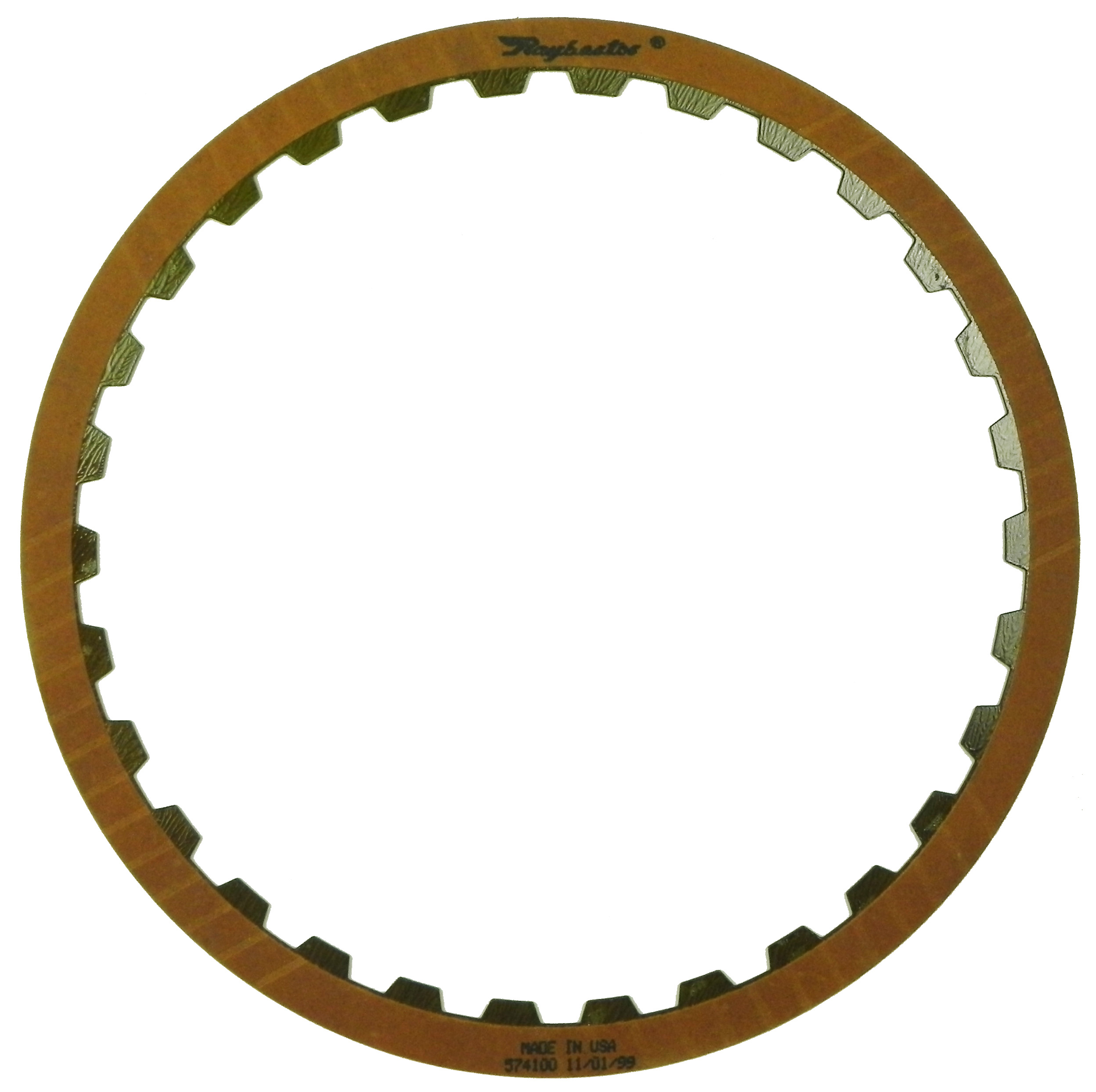 R574100 | 1986-ON Friction Clutch Plate OE Replacement A Pack (Forward), D Pack (Low, Reverse)