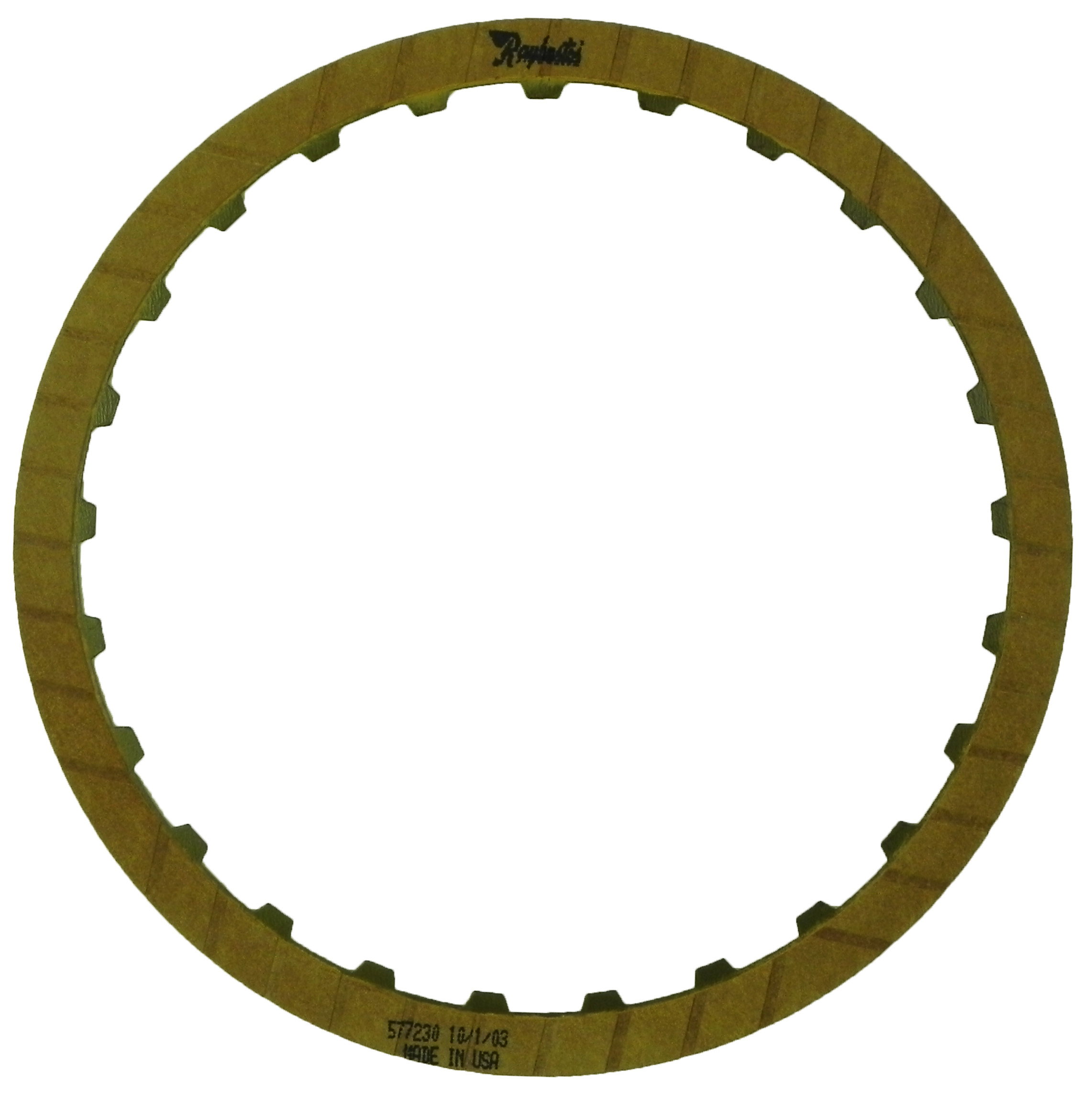 R577230 | 1982-ON Friction Clutch Plate GEN 2, Blue Plate Special Low, Reverse, GEN 2, Race Product (High Static)