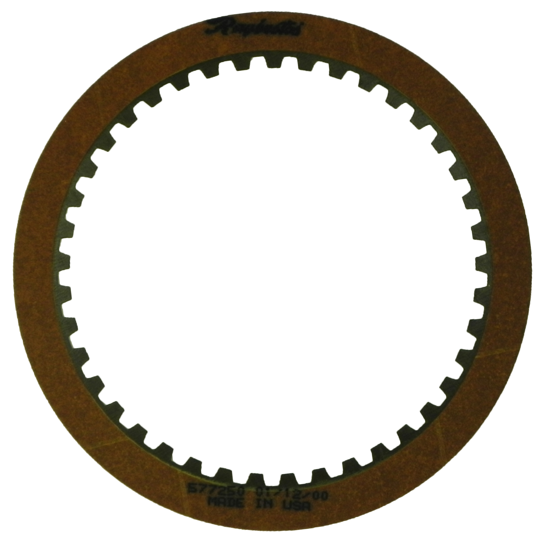 R577250 | 1987-ON Friction Clutch Plate GEN 2, Blue Plate Special Reverse Input GEN 2, Raybestos Product (High Static)
