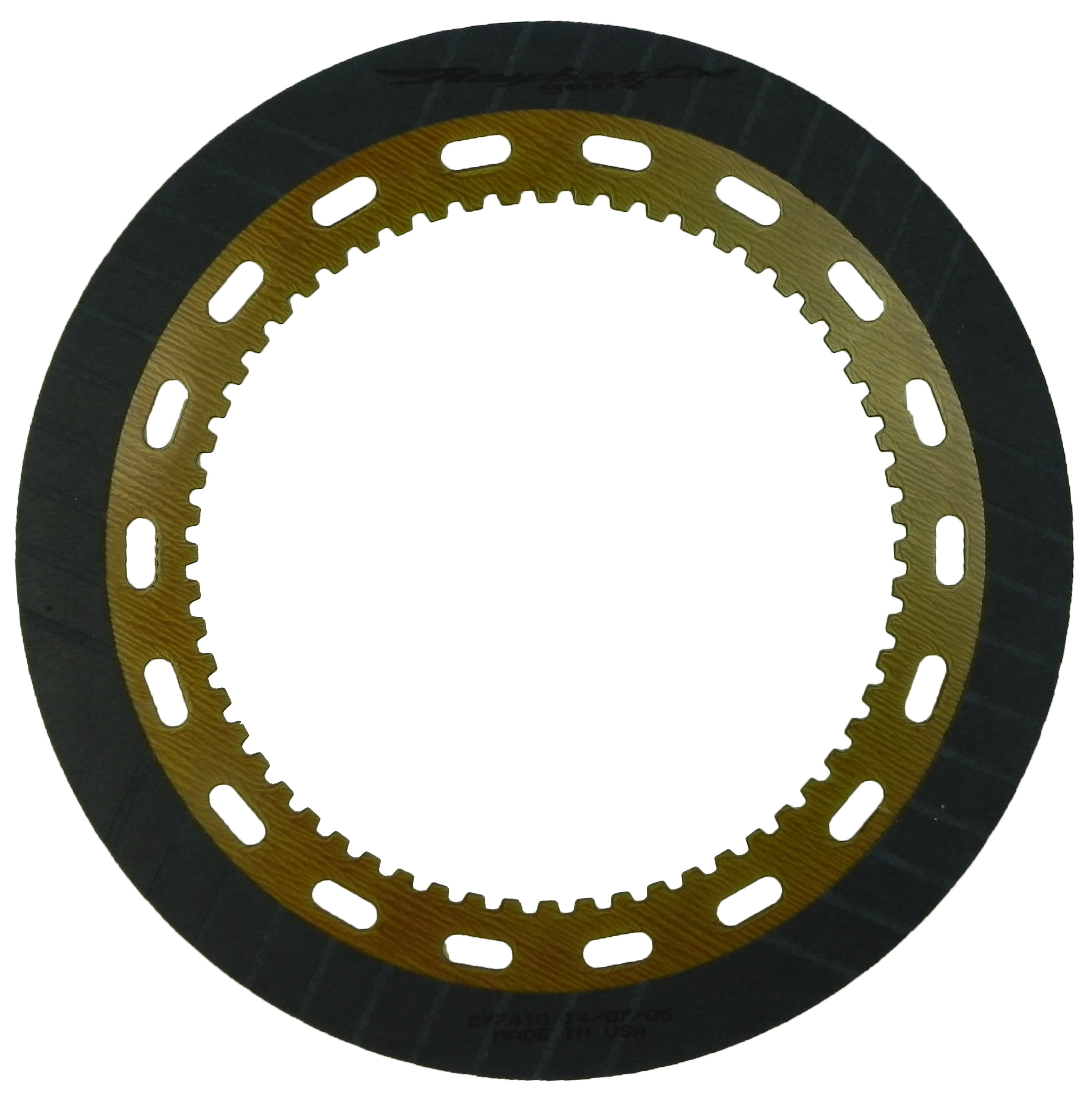R577410 | 1969-1986 Friction Clutch Plate GEN 2, Blue Plate Special Intermediate GEN 2, Race Product