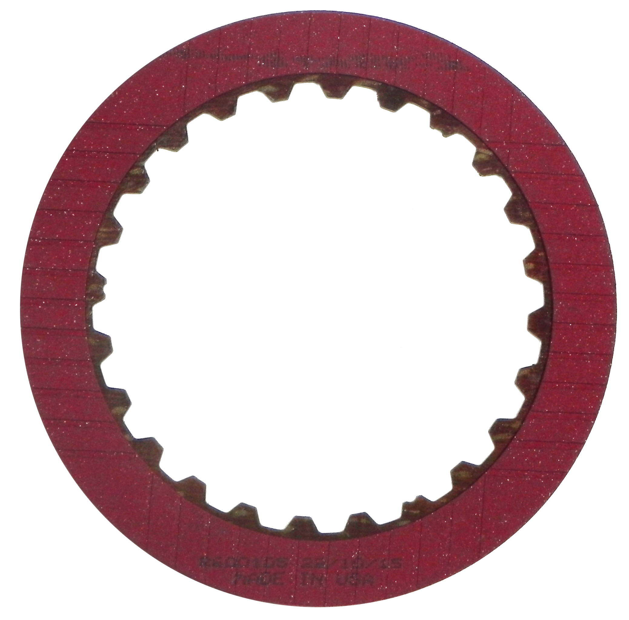 R600105 | 1997-2006 Friction Clutch Plate Stage-1™ K3 Clutch Single Sided, ID Spline Stage-1™