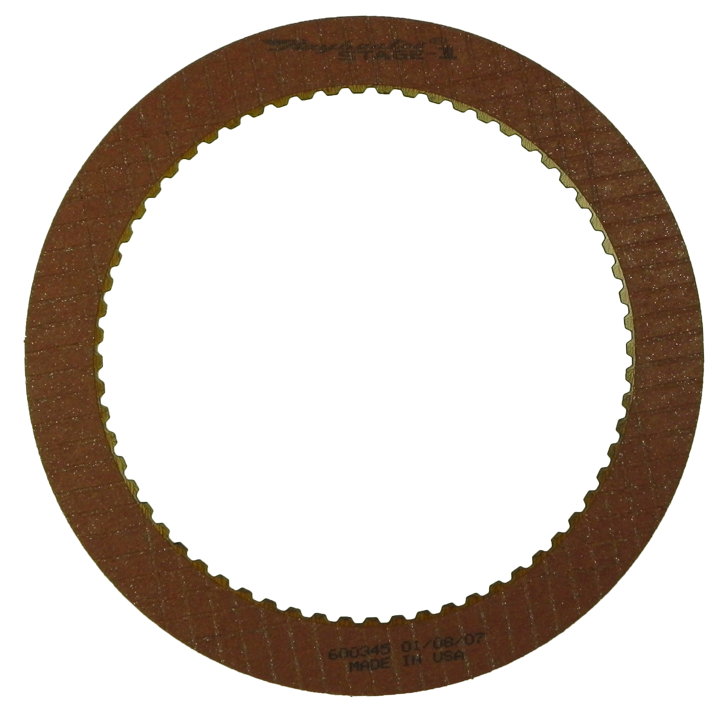 C6 Stage-1 Friction Clutch Plate