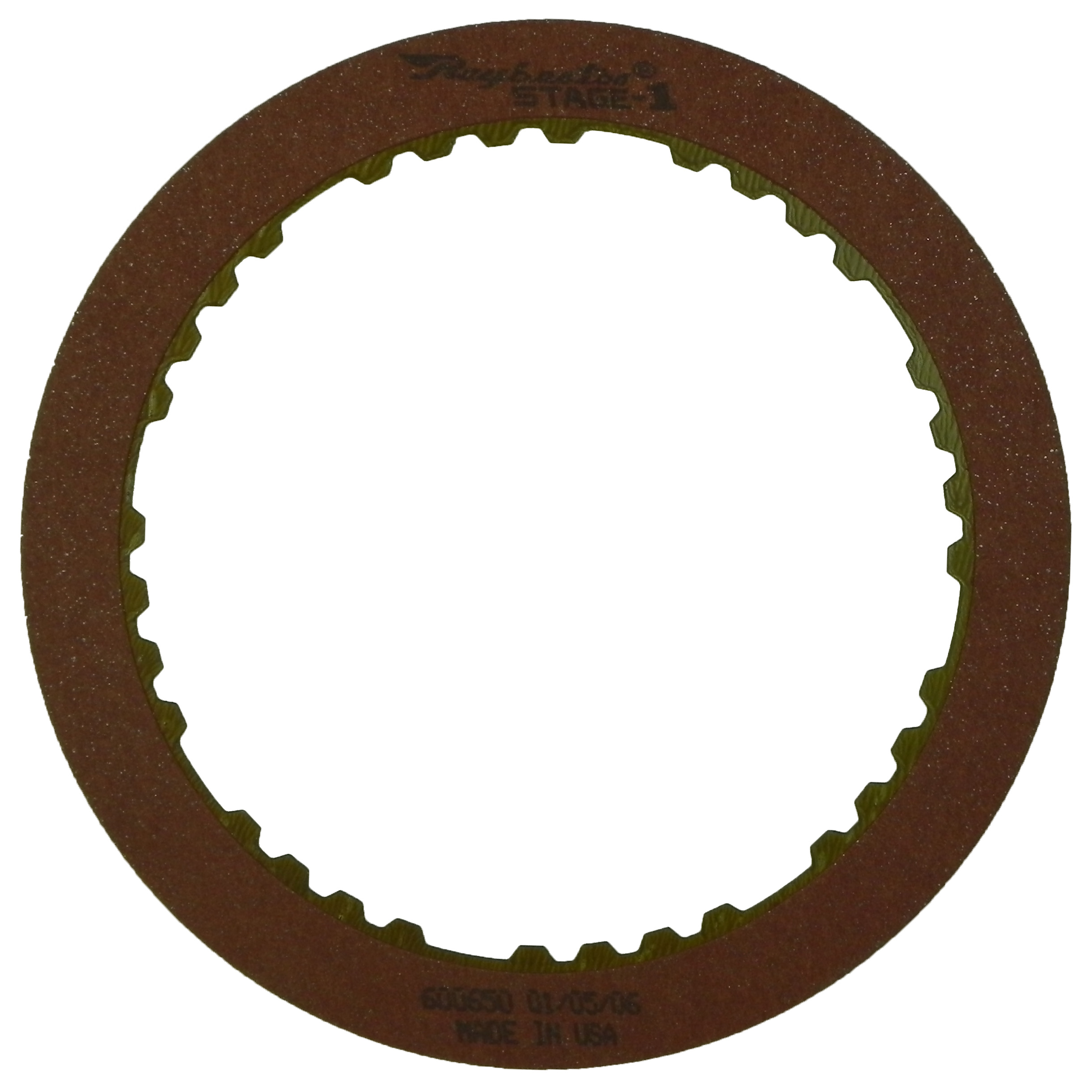 R600650 | 1985-ON Friction Clutch Plate Stage-1™ 2nd Brake, Stage-1™
