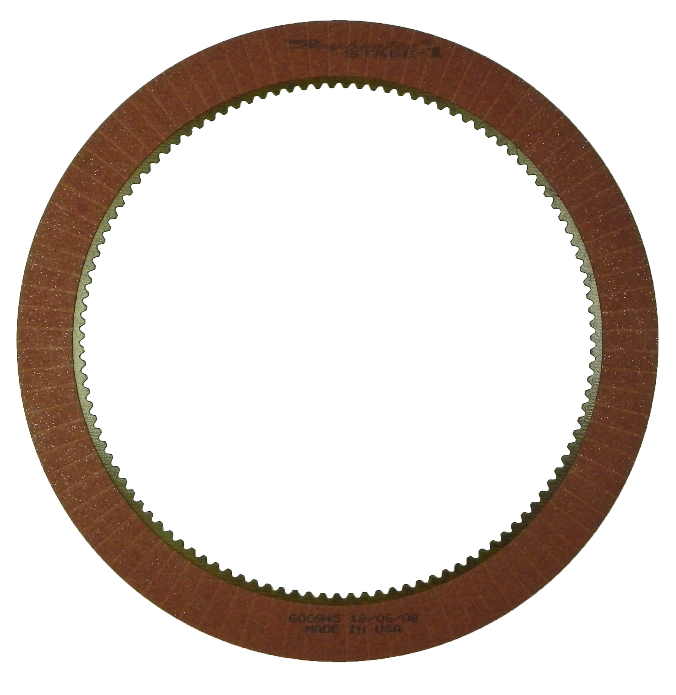 LT1000, LT2000, LT2400 SERIES Stage-1 Friction Clutch Plate