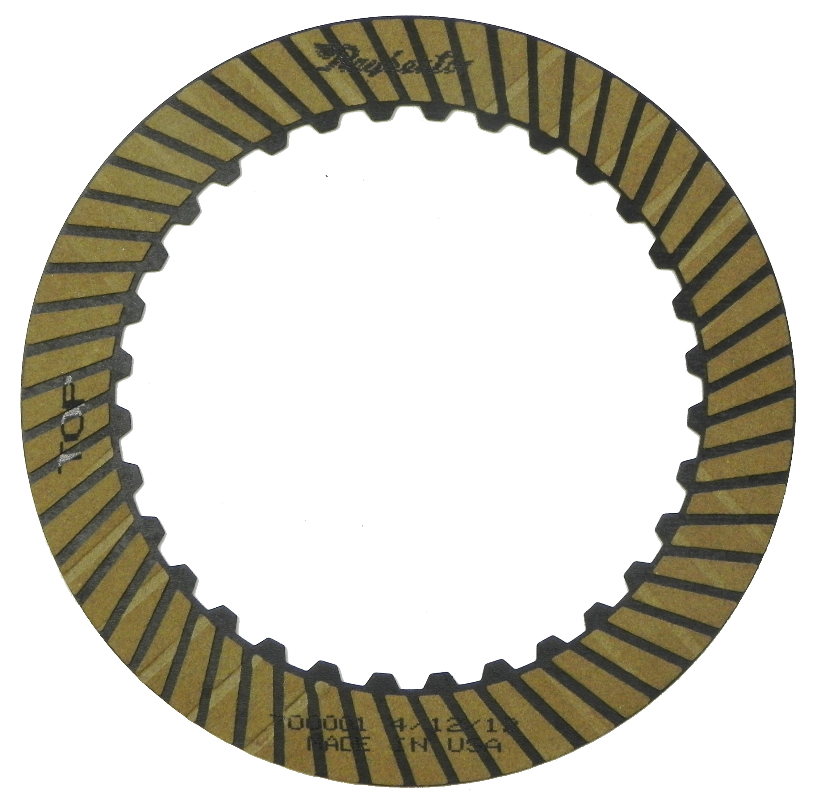 R700001 | 2003-ON Friction Clutch Plate High Energy Dual Assembly K2
