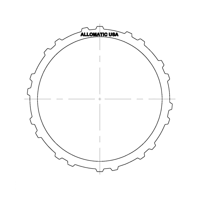 511023 | 1997-2008 Steel Clutch Plate Reverse F4A41, F4A42