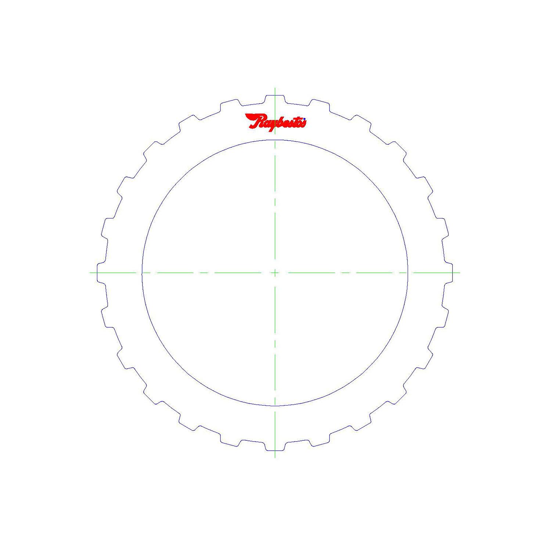 511040 | 2000-2005 Steel Clutch Plate 1st