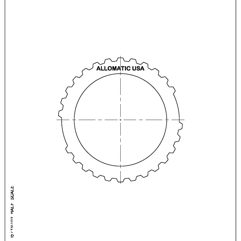 511049 | 1989-1999 Steel Clutch Plate Intermediate