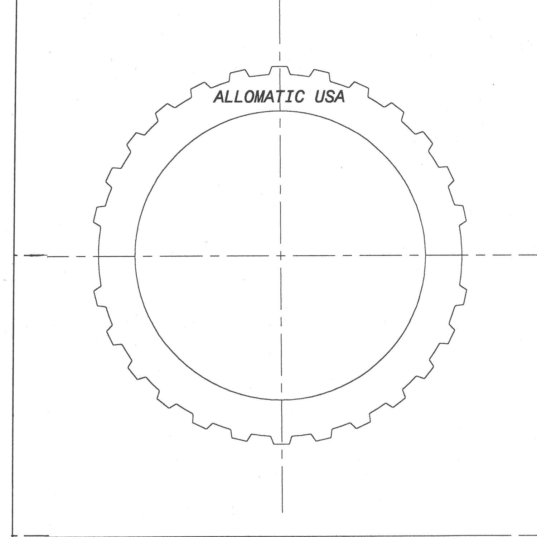511067 | 1991-ON Steel Clutch Plate Rear Forward