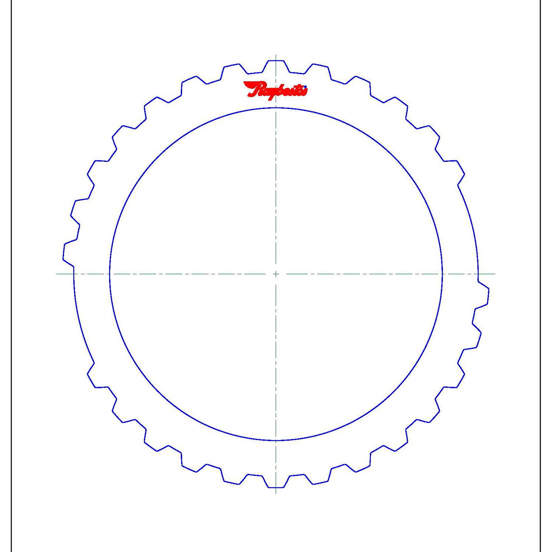 511103 | 2003-ON Steel Clutch Plate Intermediate (Front Apply)