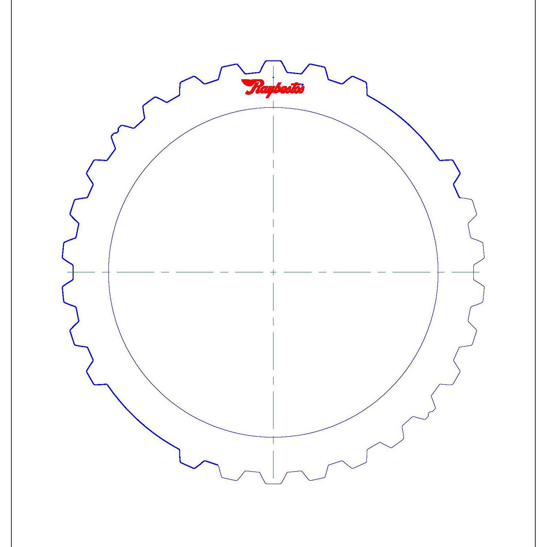 51K109 | 2005-ON Kolene® Steel Clutch Plate Intermediate, Kolene® High Performance