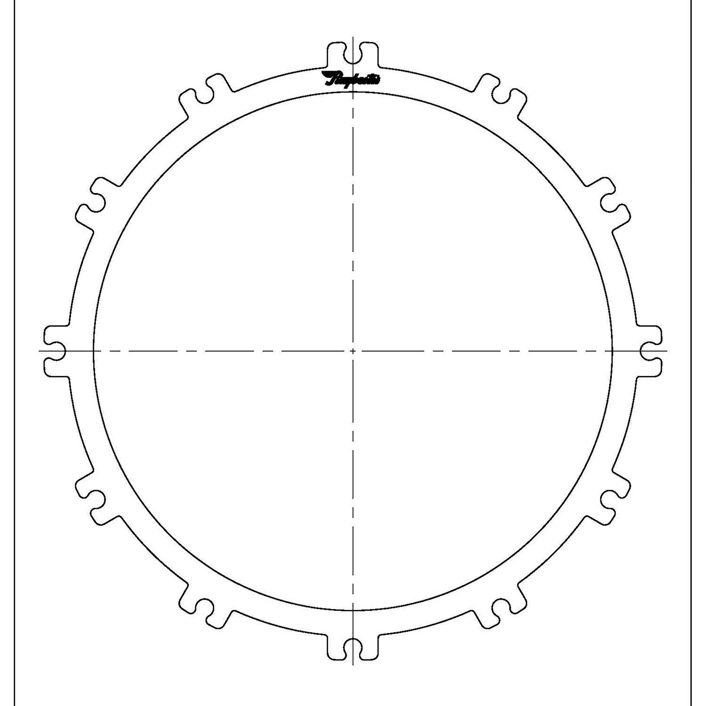 511166 | 1990-ON Steel Clutch Plate Torque Converter