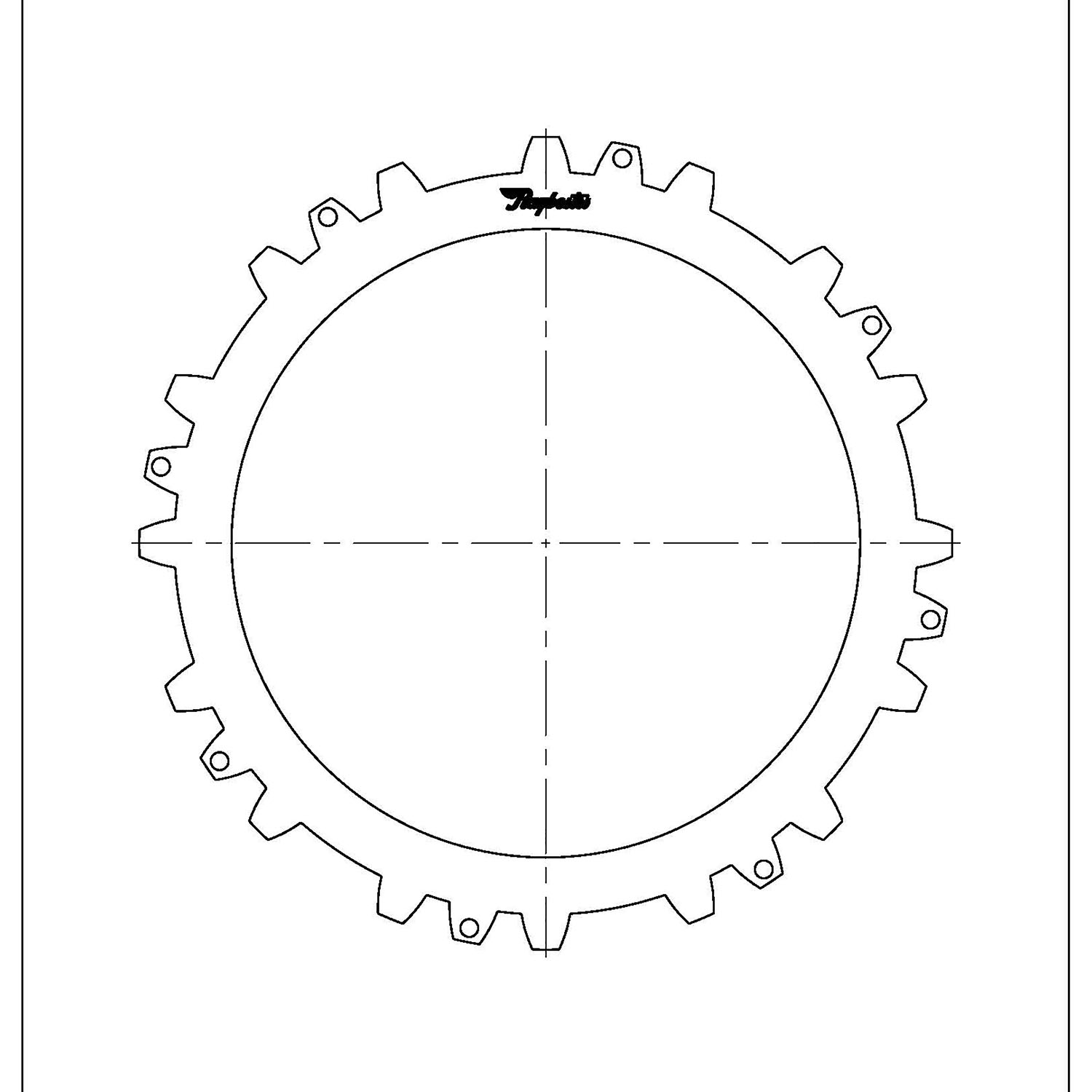 511167 | 1990-ON Steel Clutch Plate D, E , F Selective