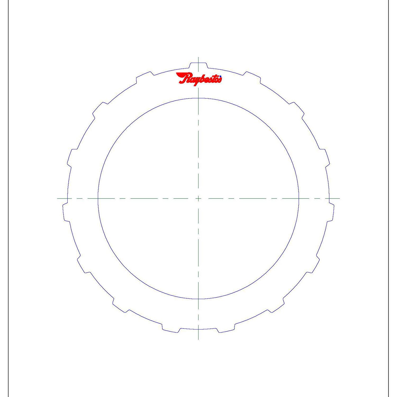511175 | 1999-2004 Steel Clutch Plate Reverse