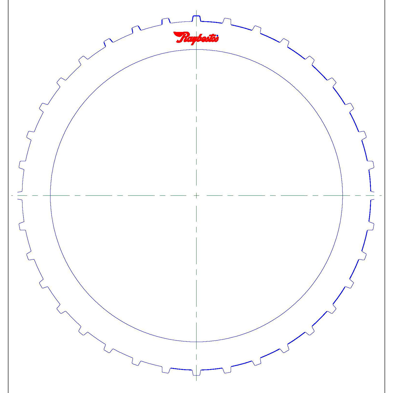 6L80, 6L90 Steel Clutch Plate