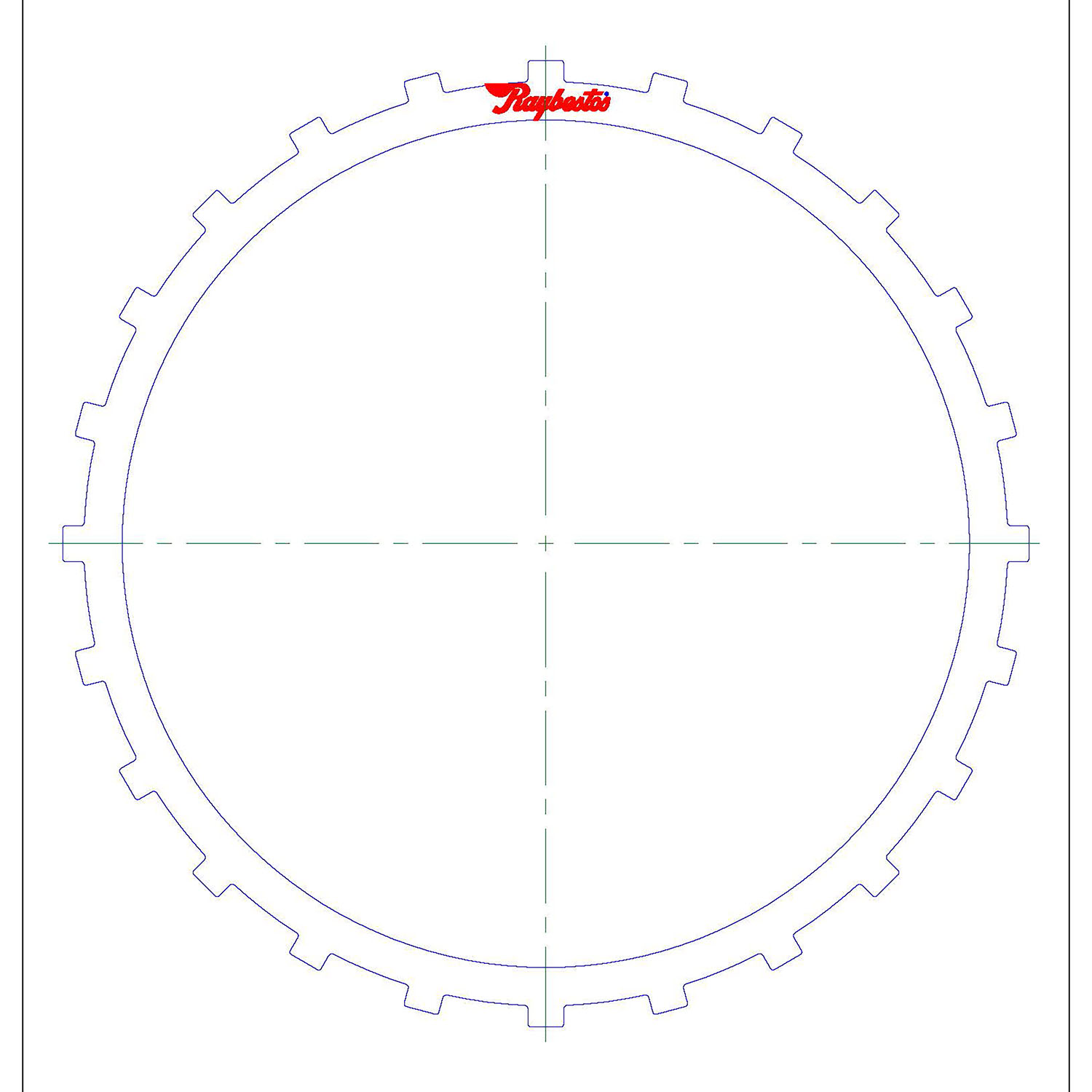 511190 | 2002-ON Steel Clutch Plate B2