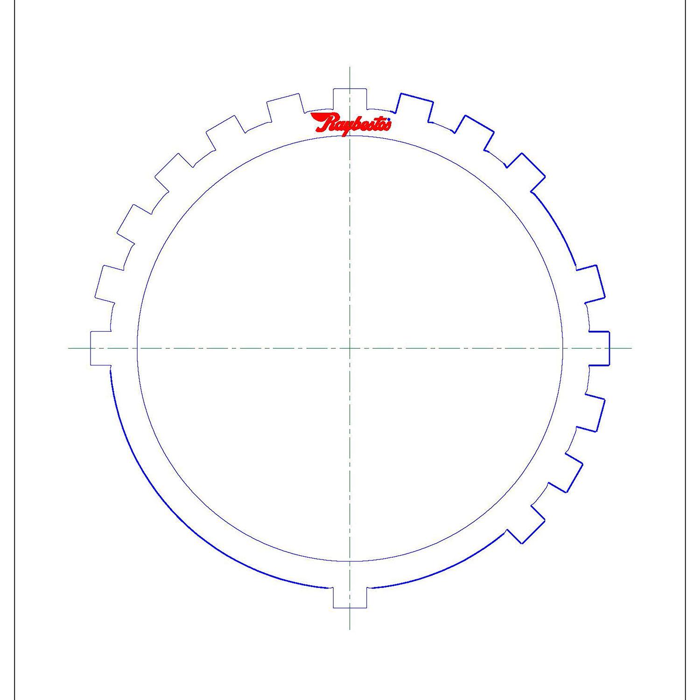 511199 | 2003-ON Steel Clutch Plate #4 Brake