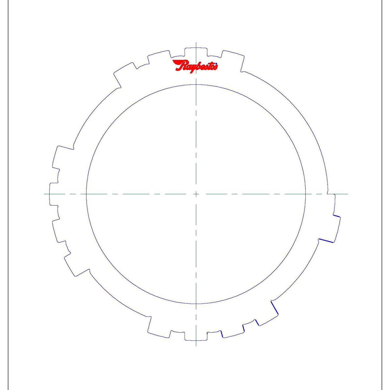 511200 | 2003-ON Steel Clutch Plate #2 Brake