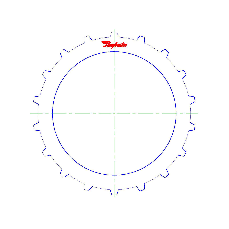 511213 | 1986-2000 Steel Clutch Plate Reverse