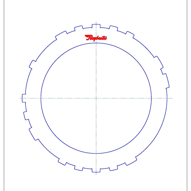 A960E Steel Clutch Plate