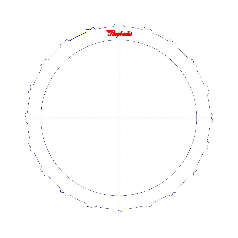 511215 | 2007-ON Steel Clutch Plate K2, K3 3rd, 5th, Reverse Clutch