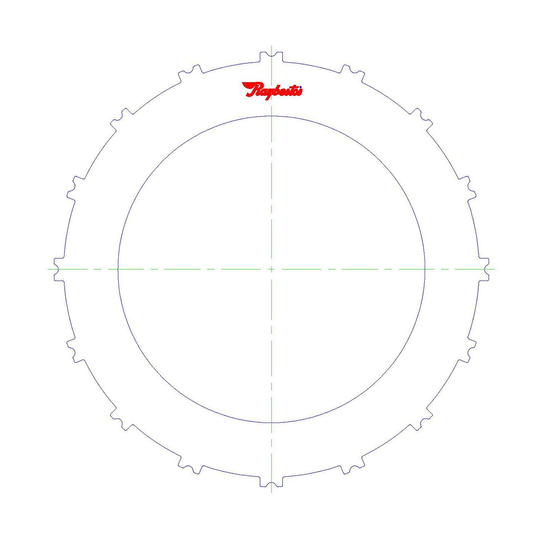 511216 | 2007-ON Steel Clutch Plate B1 2nd, 6th Clutch