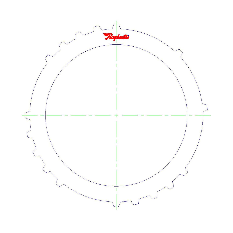 511227 | 2005-ON Steel Clutch Plate Low, Reverse Clutch