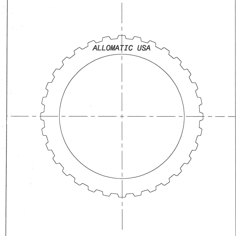 CD4E, LA4AEL Steel Clutch Plate