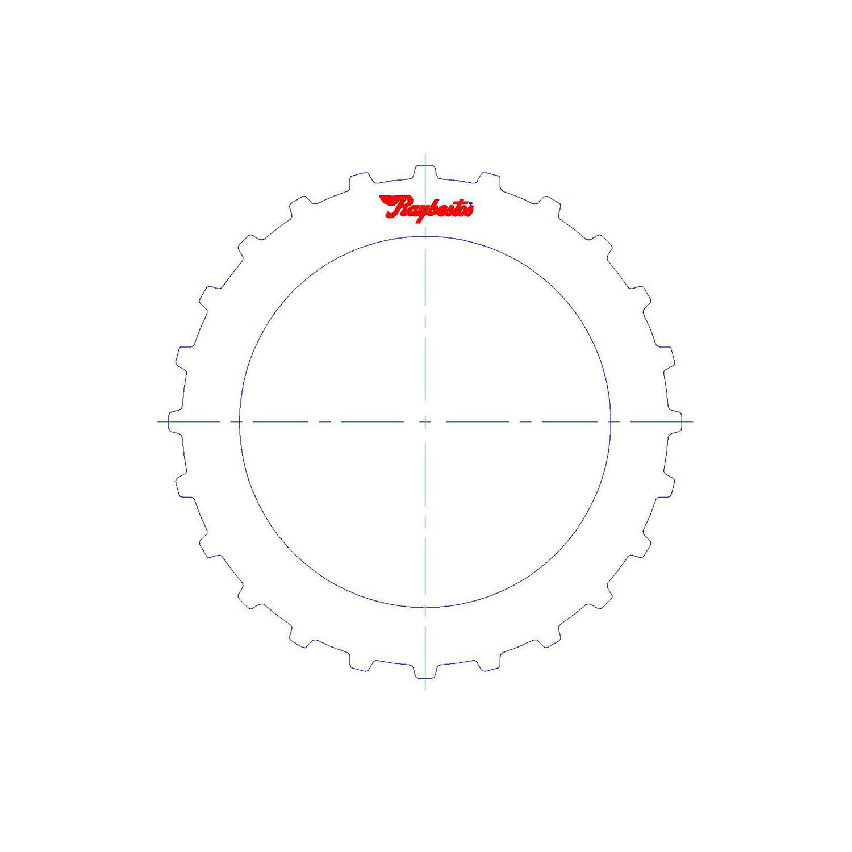 511241 | 2012-ON Steel Clutch Plate 1st Bottom (Flat)
