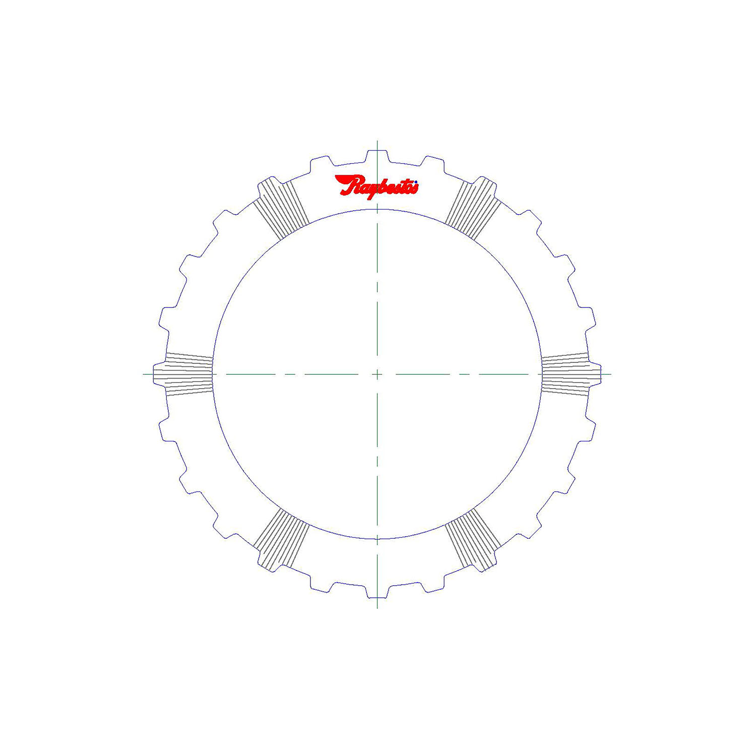511250 | 2012-ON Steel Clutch Plate 4th, 5th (Waved)