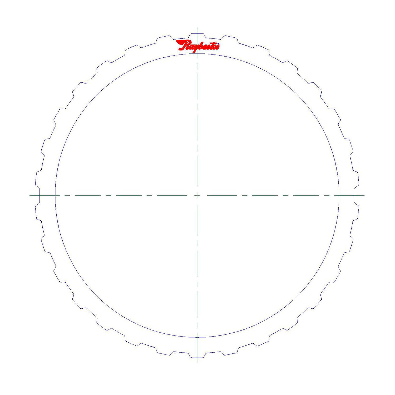 511256 | 2004-ON Steel Clutch Plate B Clutch (3, 5 Reverse)