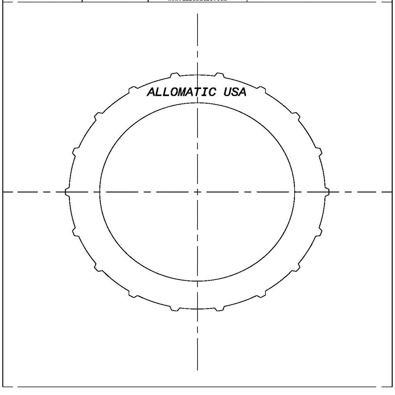 511263 | 1981-1994 Steel Clutch Plate Direct