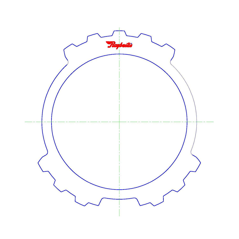 511265 | 1981-1994 Steel Clutch Plate Reverse