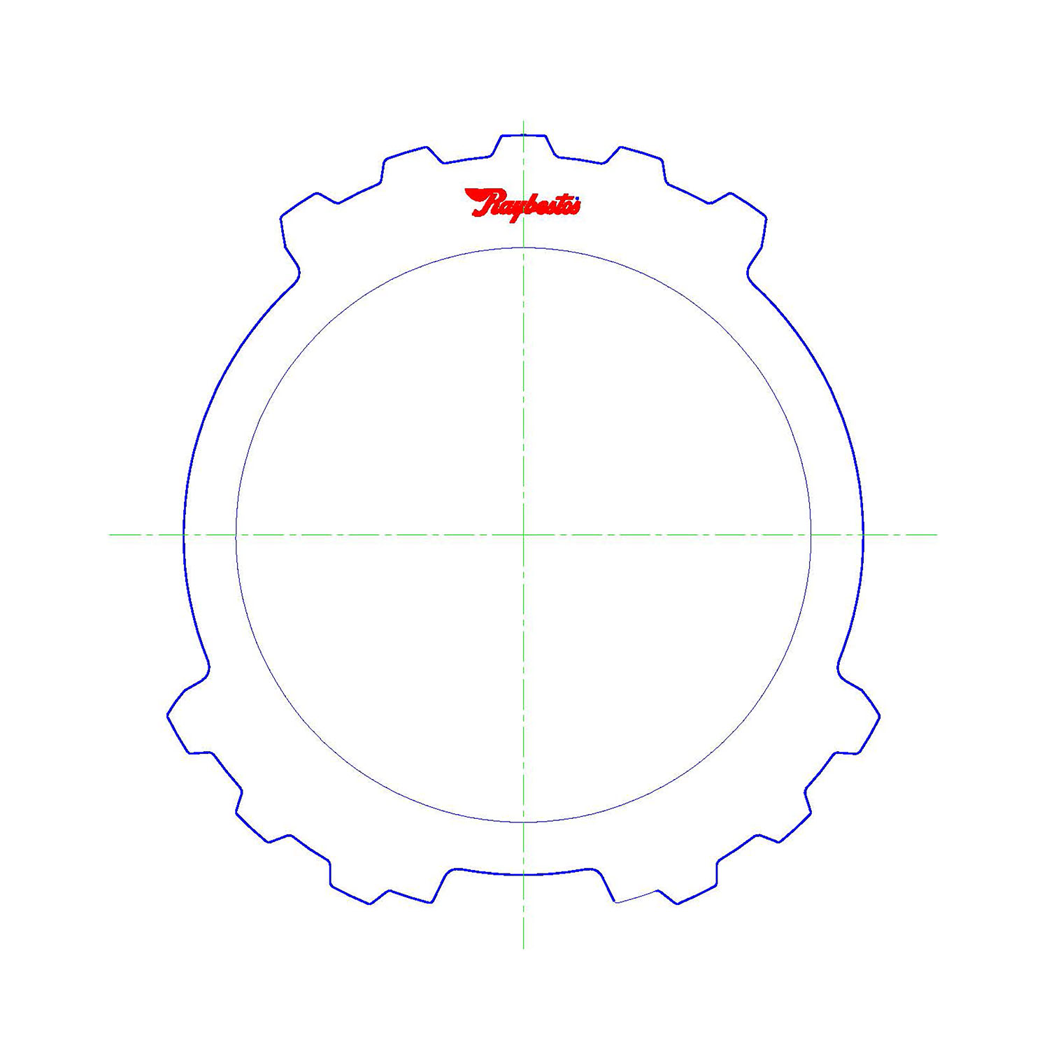 511266 | 1992-1994 Steel Clutch Plate Reverse (Small ID, Late Style)