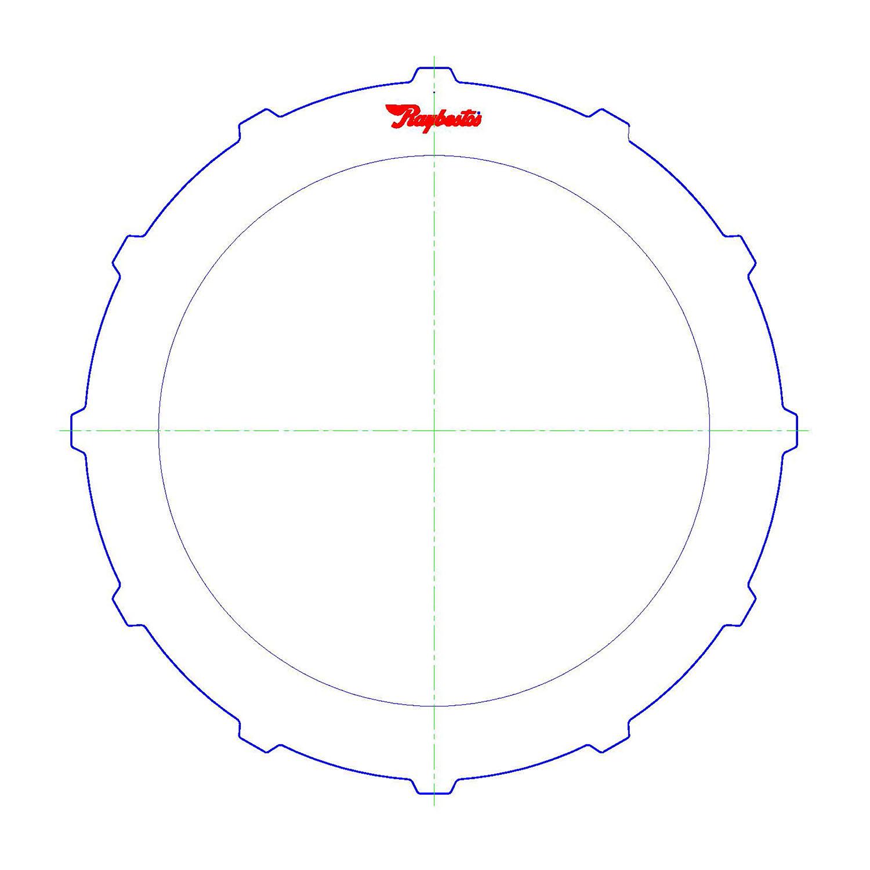 TF8, A727 / 36RH / 37RH Steel Clutch Plate