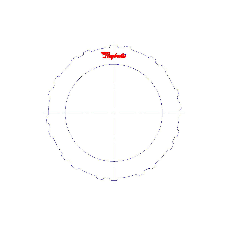 511302 | 10/31/06-ON Steel Clutch Plate Direct