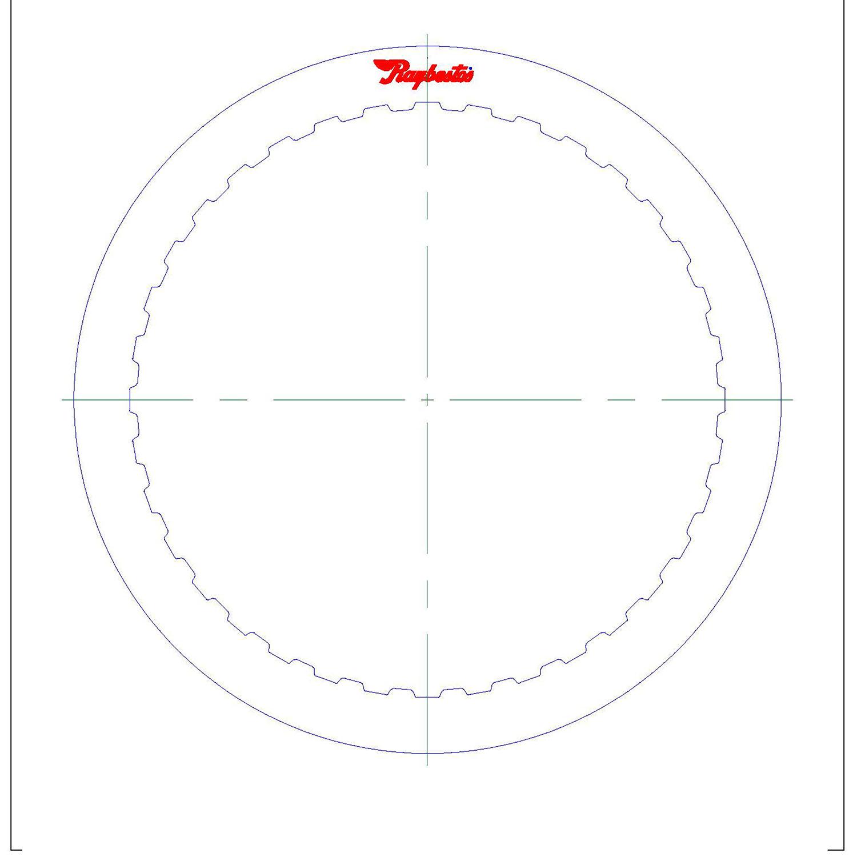 6F50, 6F55, 6T70, 6T75 Steel Clutch Plate