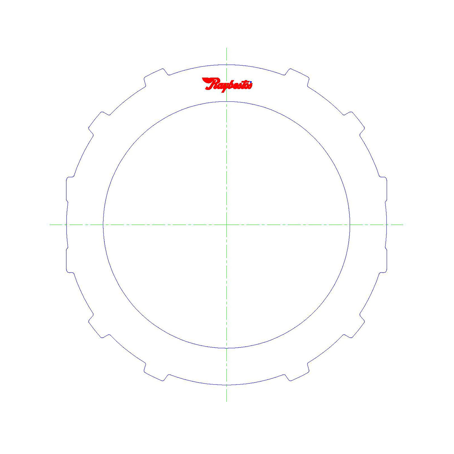 TH400, 3L80, TH400-R2, TH425, THMR2, 3L80HD, TH375, TH475, 4L80E, 4L85E Steel Clutch Plate