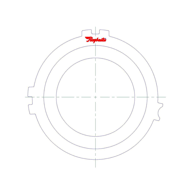 511410 | 1983-1993 Steel Clutch Plate 4th, Pressure Plate