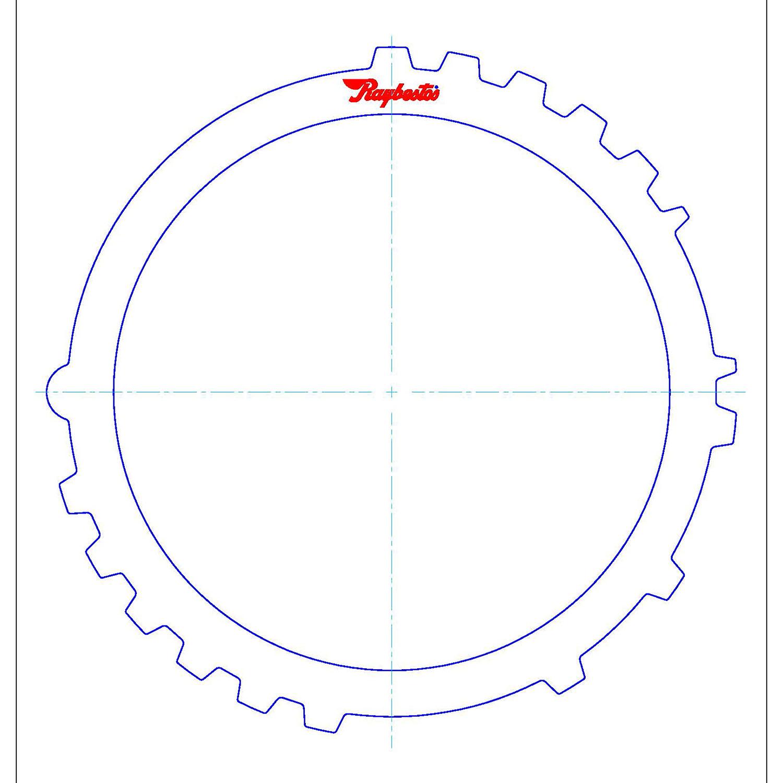 511423 | 1995-1999 Steel Clutch Plate A Clutch