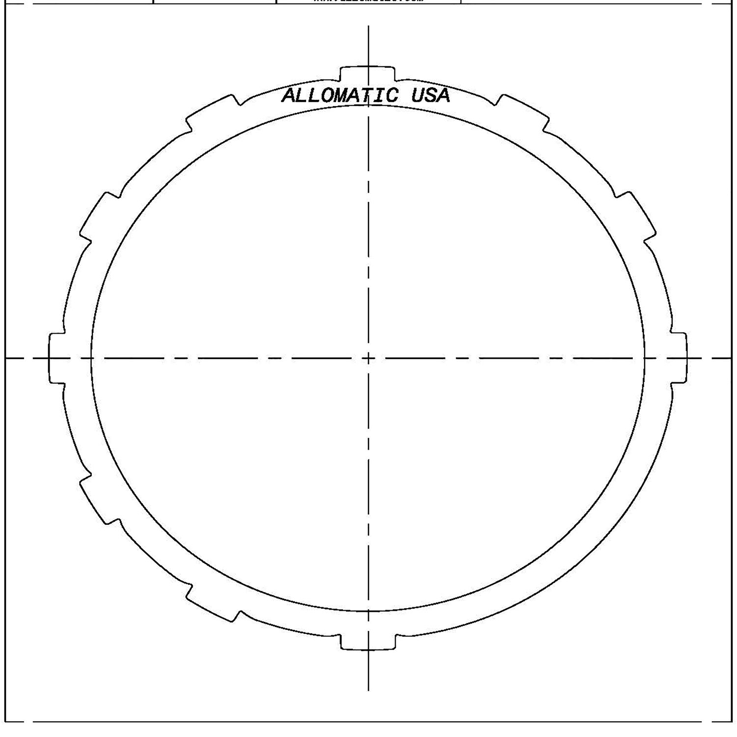 511430 | 1995-ON Steel Clutch Plate Low, Reverse